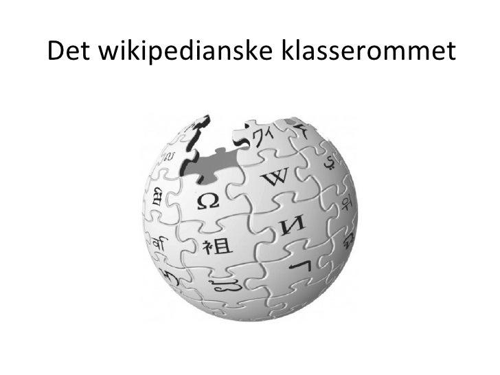 Det wikipedianske klasserommet