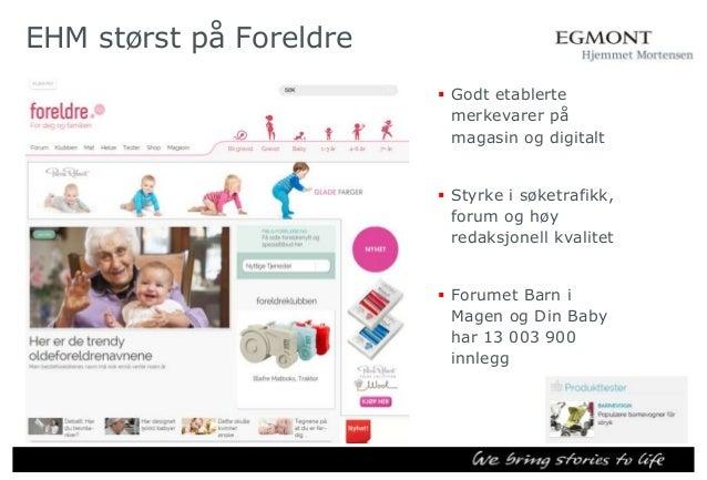 – hvor bor de? Foreldre.no 50 45 40 35 30 25 Foreldre.no  20 15 10 5 0 Oslo/Akershus,Østlandet ellers  Sør- og Vestlandet ...
