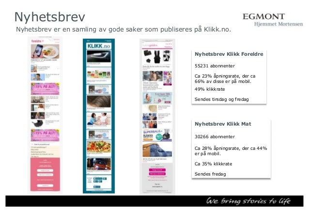 Presentasjon klikk.no   norwegian