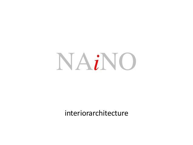 NAiNOinteriorarchitecture
