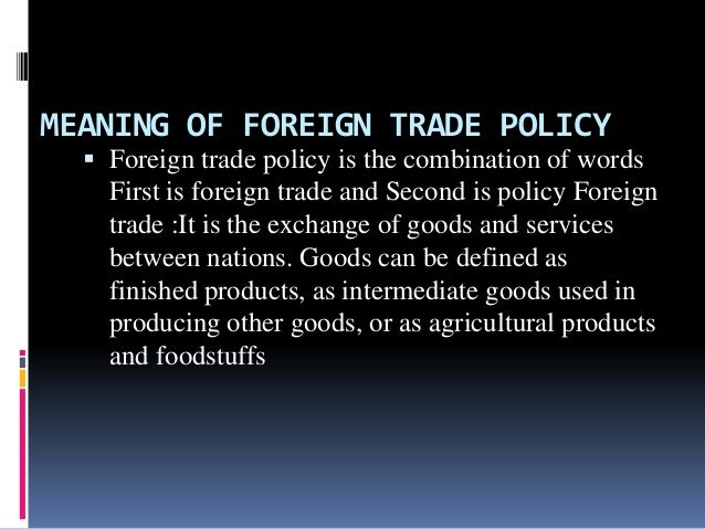 foreign trade policy India takes the highroad to us, to come up with new foreign trade policy one year in advance this comes after trump administration had on 14 march 2018 dragged india to the wto.
