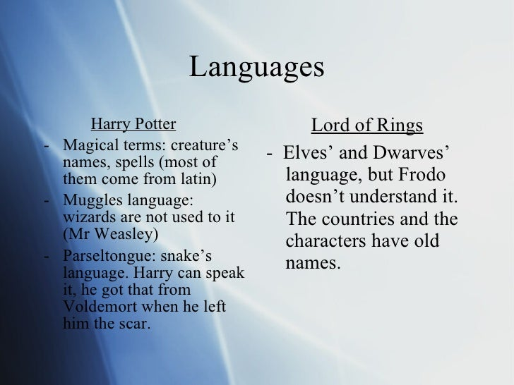 Figurative Language In Lord Of The Rings