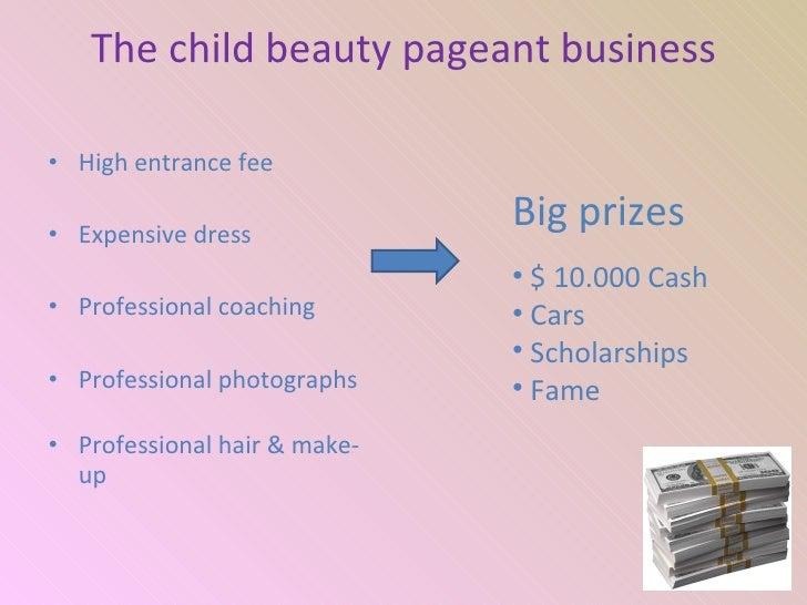 child beauty pageants statistics