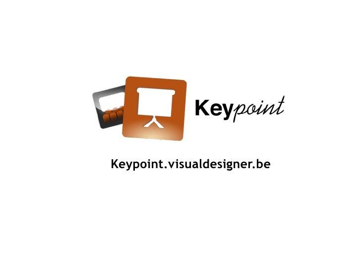 Keypoint.visualdesigner.be