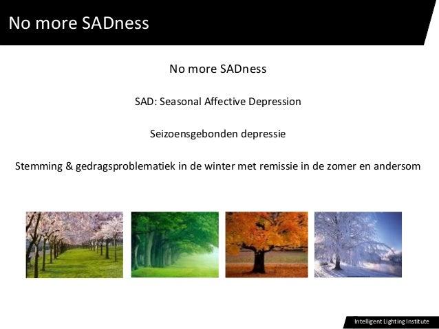 No more SADNess!: femke-beute-november-2014 Slide 2