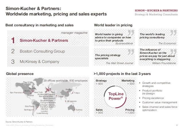 Presentatie Sales Marketing Achieving Pricing Excellence 4 Februa