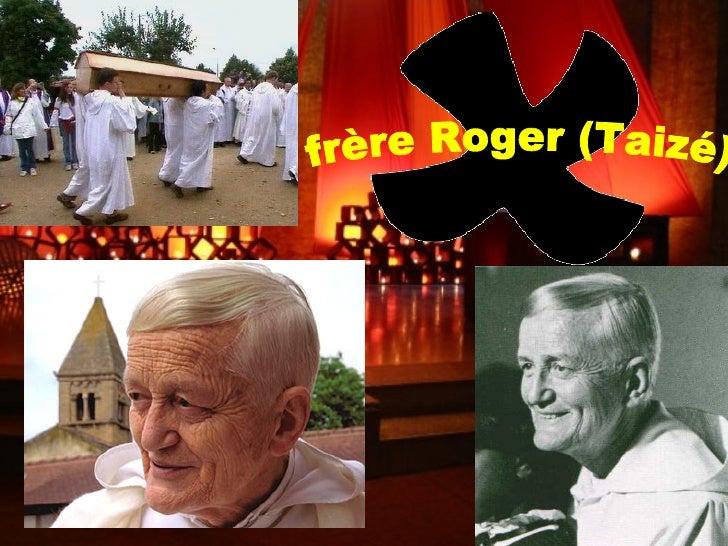 frère Roger (Taizé)
