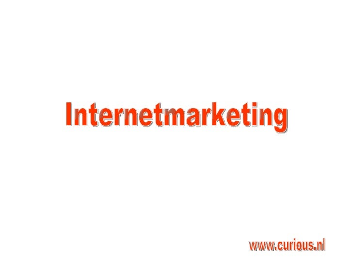 Internetmarketing www.curious.nl