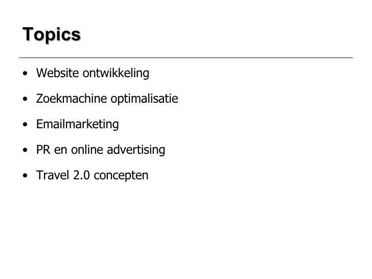 Presentatie Internetmarketing Slide 2