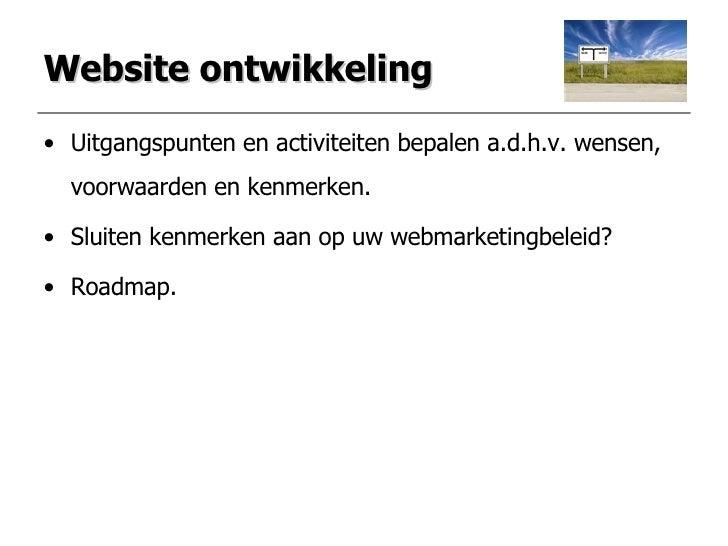 Presentatie Internetmarketing Slide 3