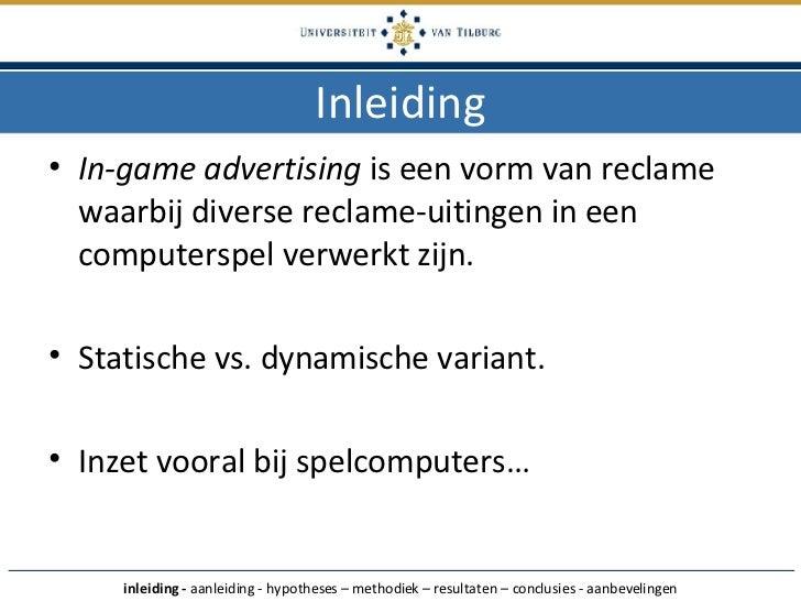 Presentatie Scriptie! Slide 3