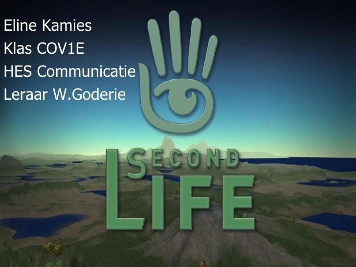 Eline Kamies Klas COV1E HES Communicatie Leraar W.Goderie
