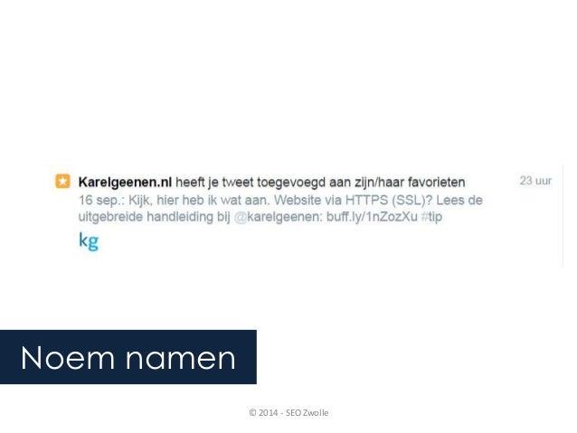 © 2014 - SEO Zwolle  Noem namen