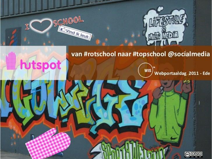 """`""""     van #rotschool naar #topschool @socialmedia                                     ..."""