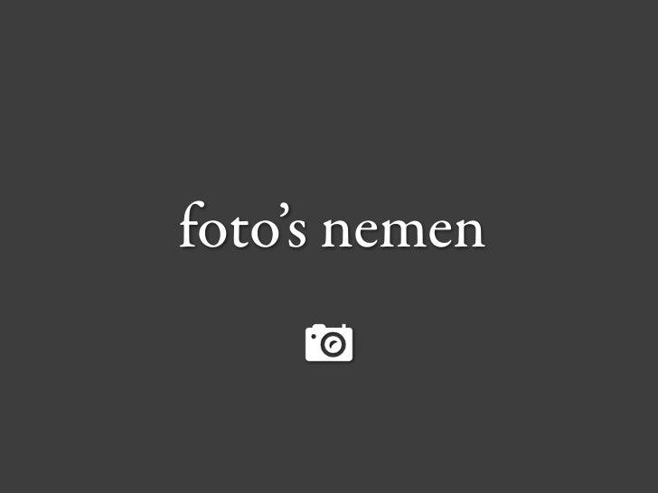amateur fotografen
