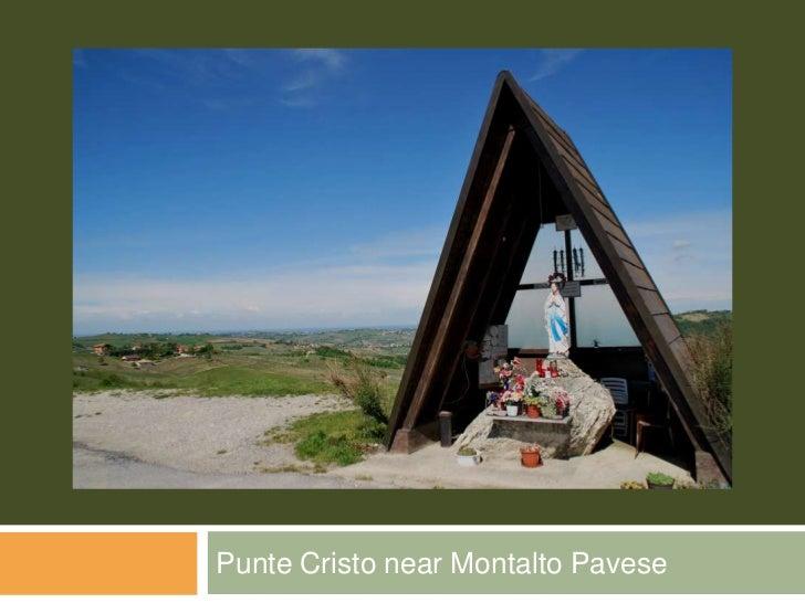 Punte Cristo near Montalto Pavese