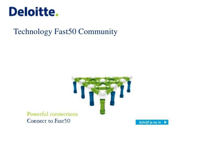 Technology Fast50 Community