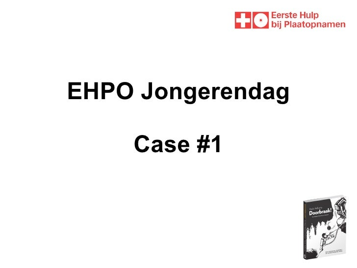 EHPO Jongerendag Case #1