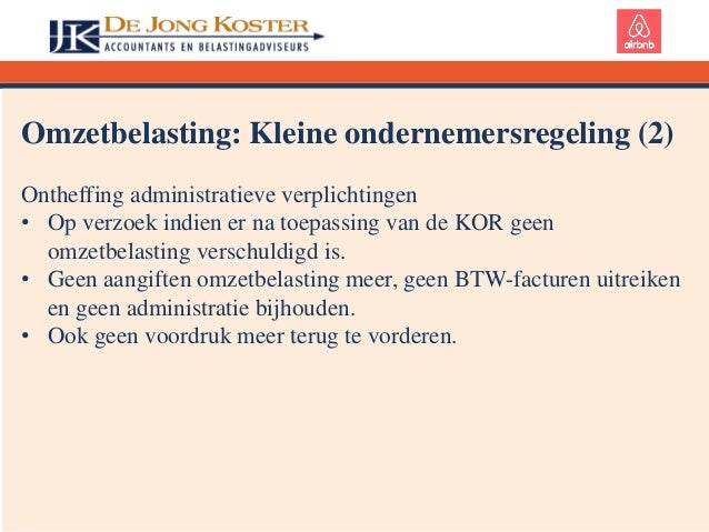 Presentatie Airbnb Belastingen (Rotterdam Group, Community)