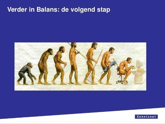 Verder in Balans: de volgend stap