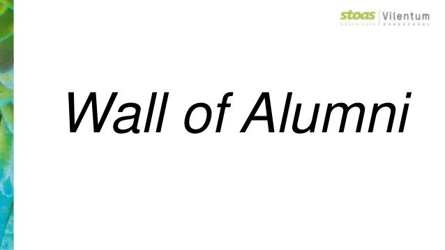 Wall of Alumni