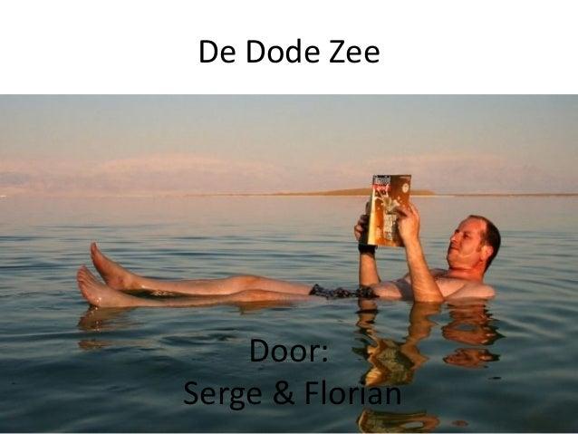 De Dode Zee Door: Serge & Florian