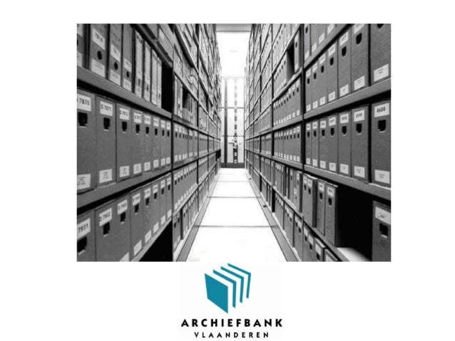 Archiefbank• online databank• registratie private archieven• op bestandsniveau• www.archiefbank.be (april 2005)