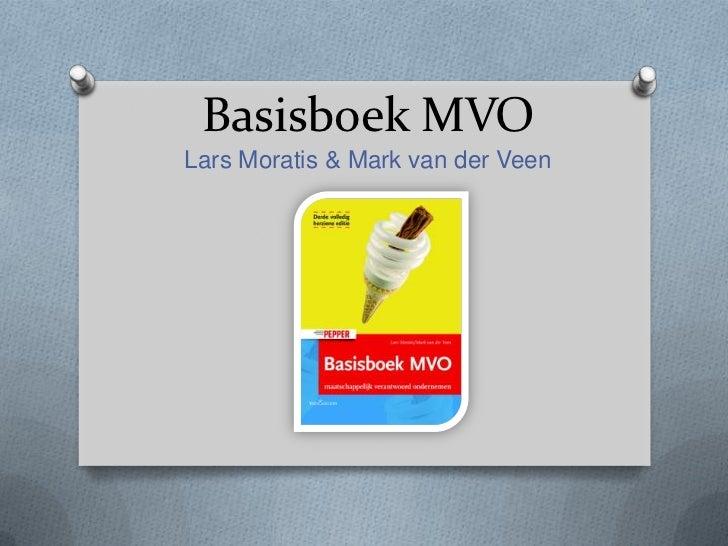 Basisboek MVOLars Moratis & Mark van der Veen