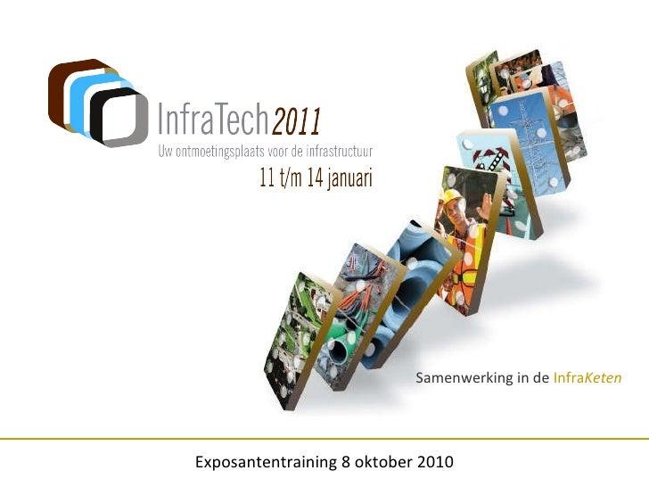 Samenwerking in de  Infra Keten Exposantentraining 8 oktober 2010