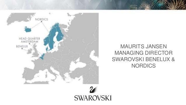MAURITS JANSEN MANAGING DIRECTOR SWAROVSKI BENELUX & NORDICS