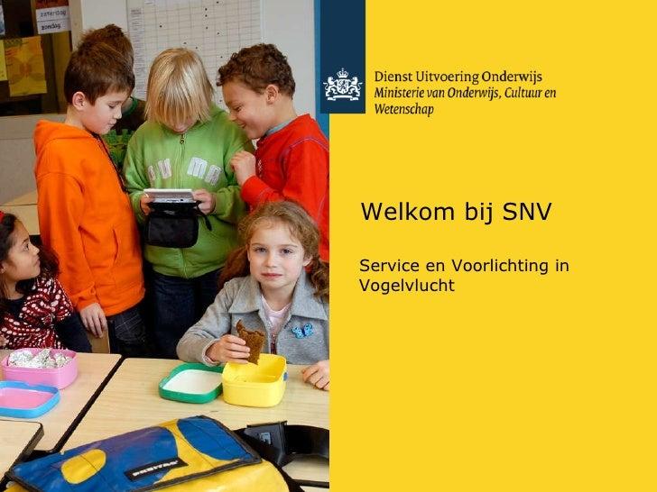 Presentatieboekje SNV