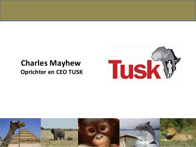 Charles MayhewOprichter en CEO TUSK