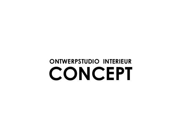 ONTWERPSTUDIO INTERIEURCONCEPT