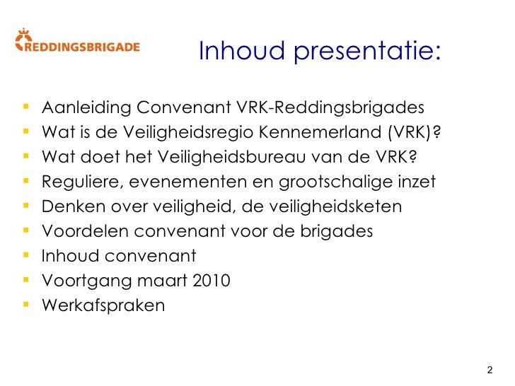 Presentatie convenant VRK reddingsbrigade Kennemerlands v1 3 Slide 2