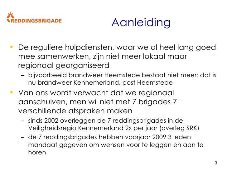 Presentatie convenant VRK reddingsbrigade Kennemerlands v1 3 Slide 3
