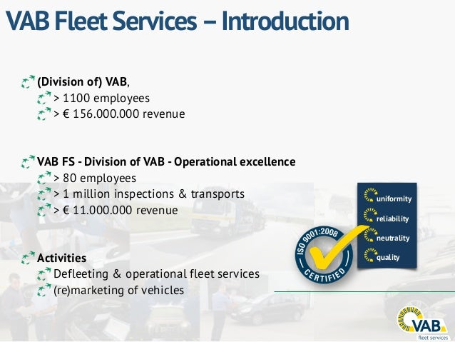 FLEET ACTIVITIES Data Systems Services Logistics & Transport Inspection Operational management Stalling Parking (De)fuelin...