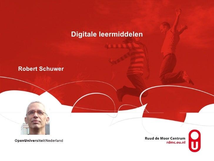 Digitale leermiddelen Robert Schuwer