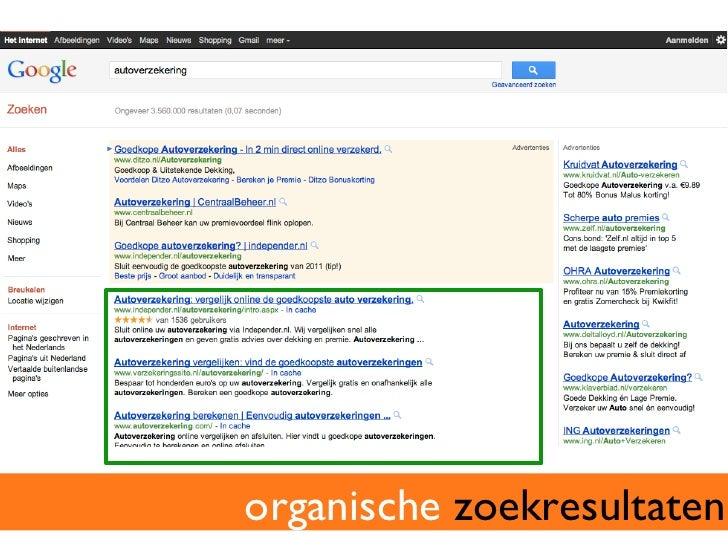 zoekmachine optimalisatie (seo)