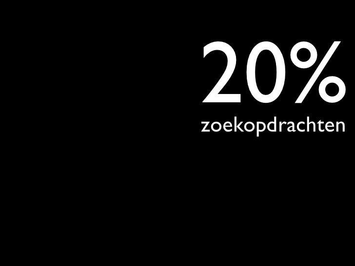 zoekmachinemarketingwebanalytics - conversieoptimalisatie                                      verbreding