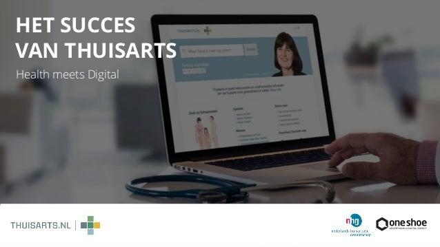 HET SUCCES  VAN THUISARTS Health meets Digital