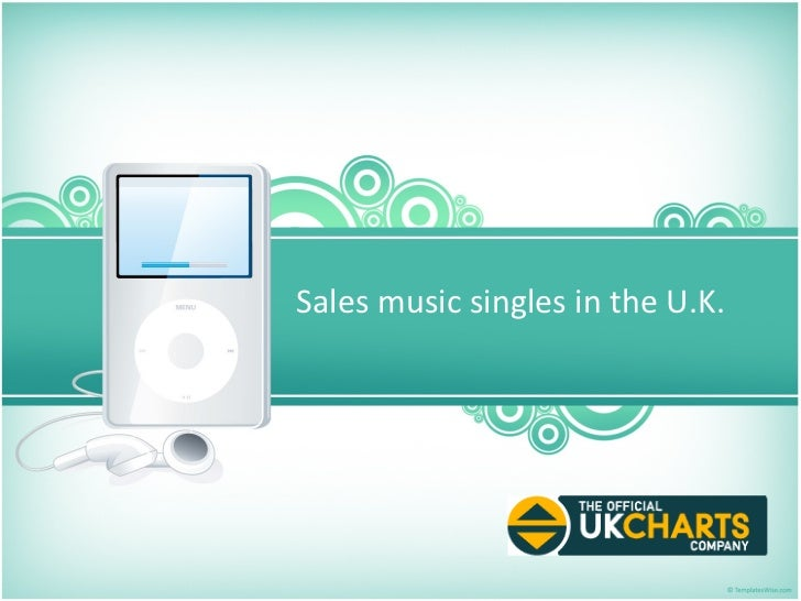 Sales music singles in the U.K.
