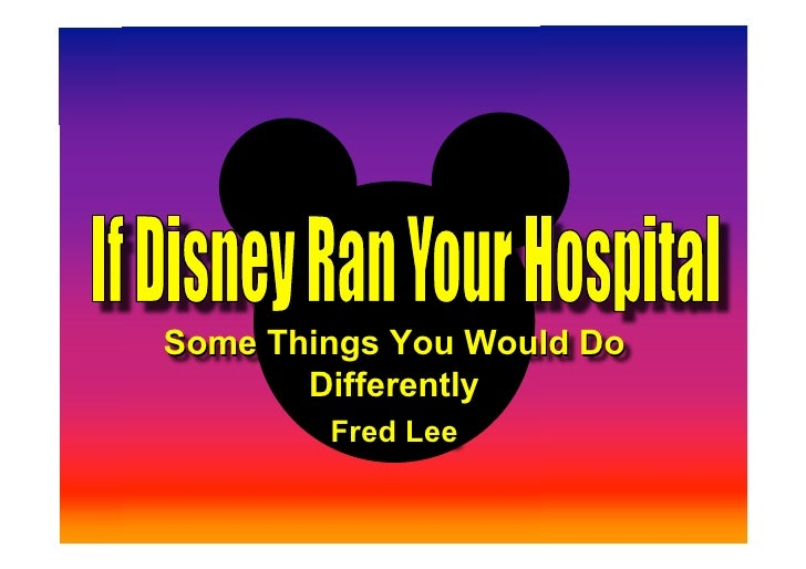 Some Things You Would Do        Differently         Fred Lee