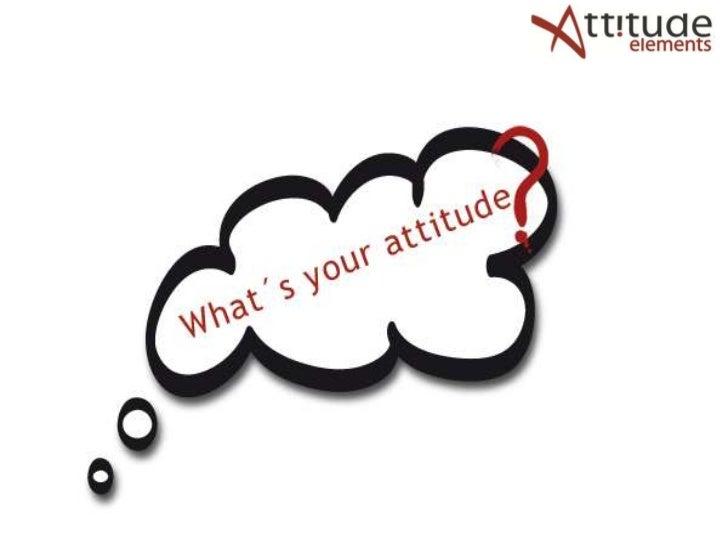 De Kern van Attitude Elements