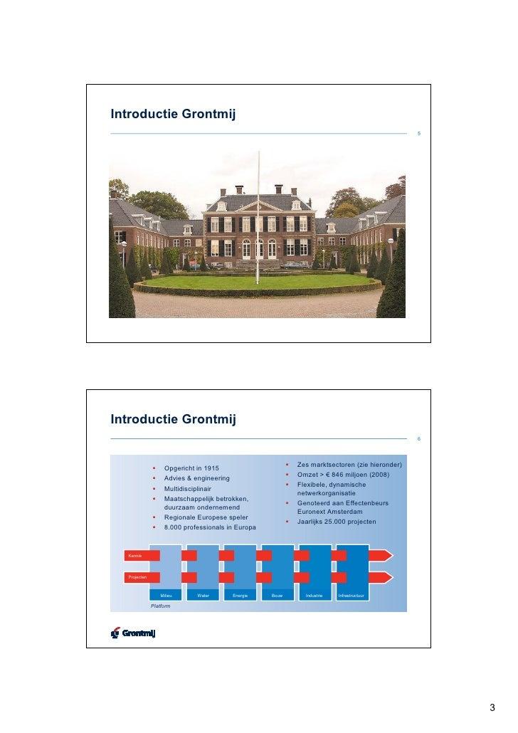 Met GIS minder gissen in uw RO-proces Slide 3