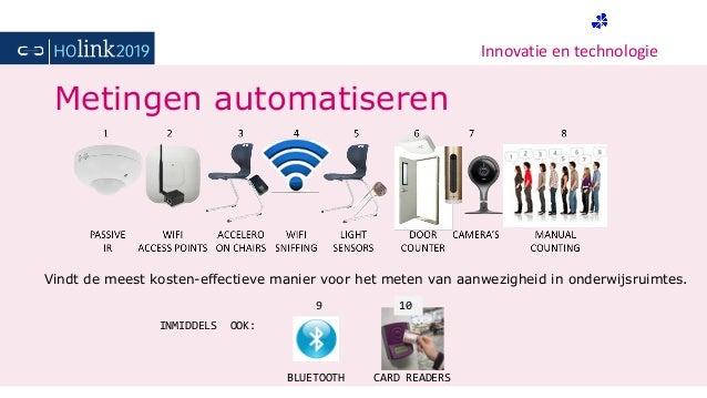 Innovatie en technologie Metingen automatiseren Vindt de meest kosten-effectieve manier voor het meten van aanwezigheid in...