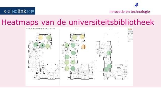 Innovatie en technologie Heatmaps van de universiteitsbibliotheek