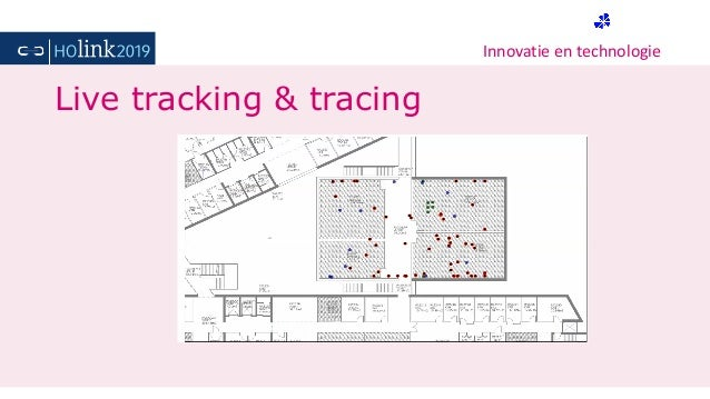 Innovatie en technologie Live tracking & tracing