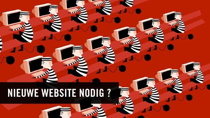 NIEUWE WEBSITE NODIG ?