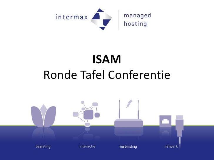 ISAMRonde Tafel Conferentie <br />