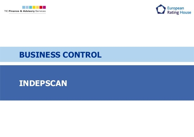 INDEPSCAN BUSINESS CONTROL